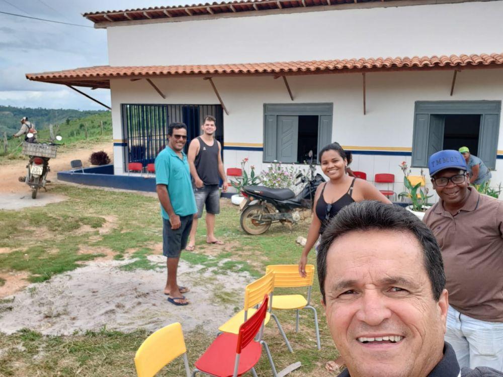 REFORMA DA ESCOLA ALMIR CAREIRO RAMOS