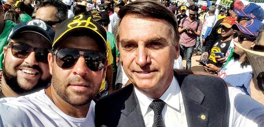 Bolsonaro e dono da Fazenda onde Adriano da Nóbrega foi morto.